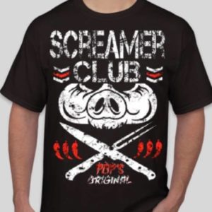 screamer club t shirt